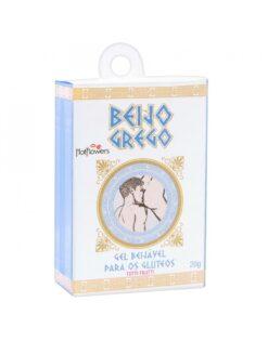Oleo de massagem beijável Beijo grego 20g