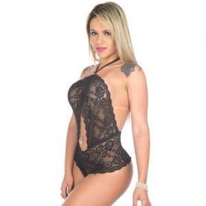 Body Sensual Doce Delírio Pimenta Sexy Preto