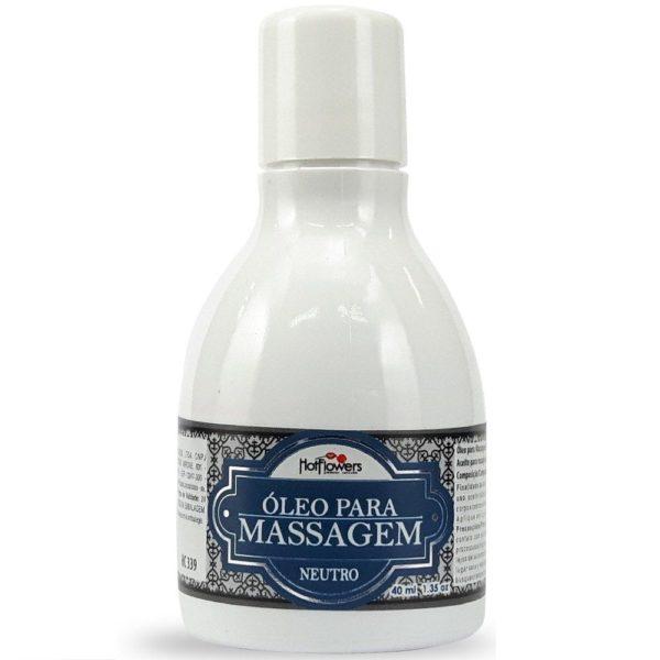 Óleo Para Massagem Beijável Neutro 40 ml
