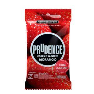 Preservativo Prudence Sabores com 3 unidades