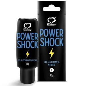 Gel Eletrizante Power Shock 15ml