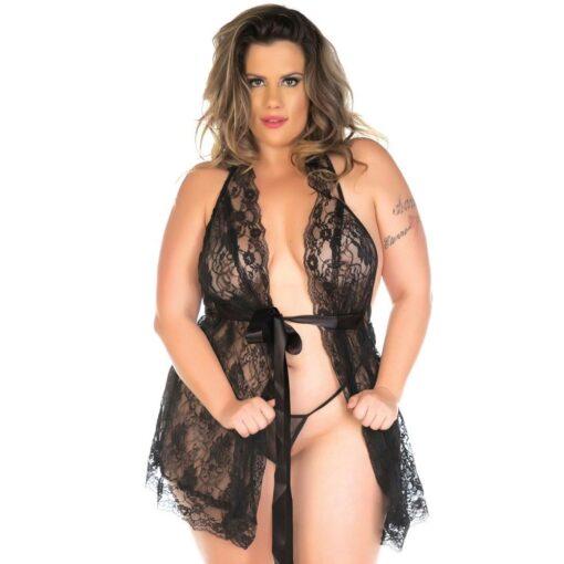 camisola sensual plus size luxo pimenta sexy copia 1 - misex