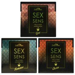 Vela Aromática Para Massagem Sex Sens 20gr